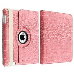 BasAcc Pink Case/ Screen Protect/ Wrap/ Headset for Apple iPad 2/ 3