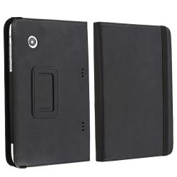 BasAcc Black Leather Case for HTC Flyer