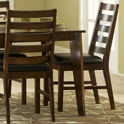 Stotfold Rich Brown Arts and Crafts 7-piece Dining Set