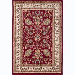 Mandara Red Oriental Rug (8' x 11')