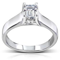 14k Gold 1ct TDW Diamond Solitaire Engagement Ring (H-I, SI1-SI2)
