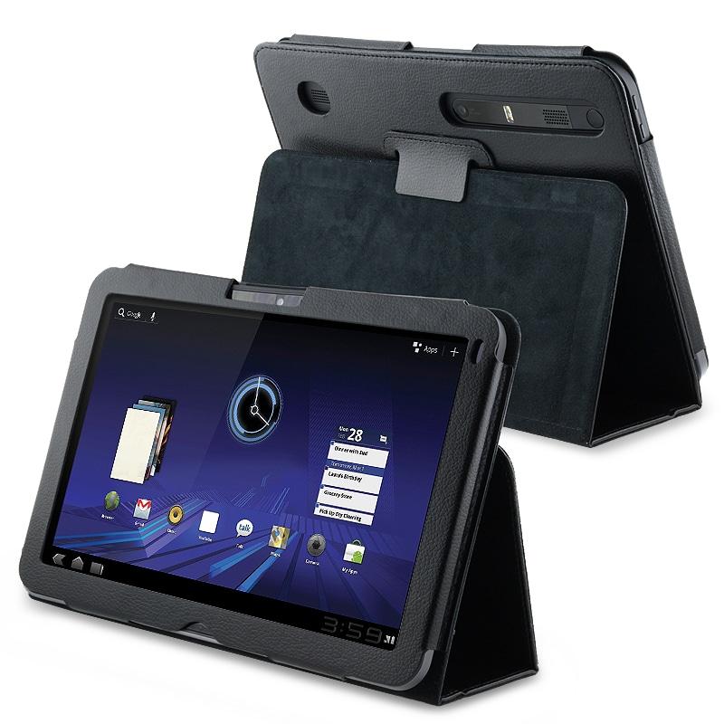 BasAcc Black Leather Case for Motorola XOOM