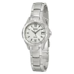 Seiko Women's 'Solar' Stainless Steel Quartz Watch
