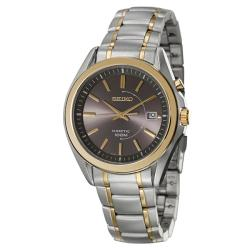Seiko Men's 'Kinetic' Two Tone Kinetic Watch