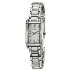 Caravelle by Bulova Women's 'Diamond' Stainless Steel Quartz Watch