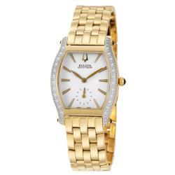 Bulova Accutron Women's 'Saleya' Gold Plated Quartz Watch