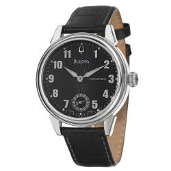 Bulova Accutron Men's 'Gemini' Stainless Steel Manual Wind Watch