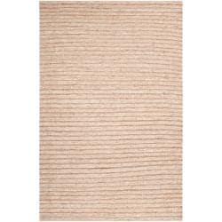 Hand-woven Tan Doctra Natural Fiber Hemp Rug (8' x 11')