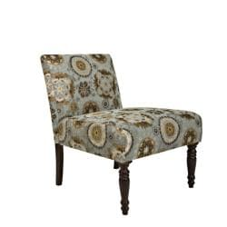 angelo:HOME Bradstreet Vintage Tapestry Blue Chair