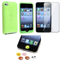 Case/ LCD Protector/ Home Sticker for Apple iPod Touch Generation 4