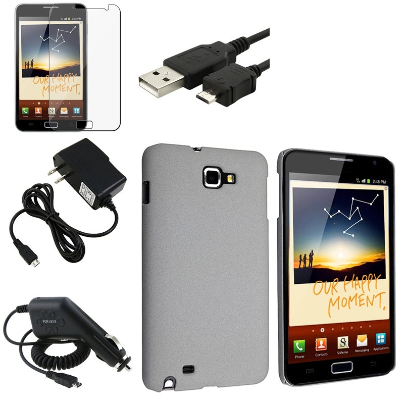 Case/ LCD Protector/ Chargers/ Cable for Samsung Galaxy Note N7000