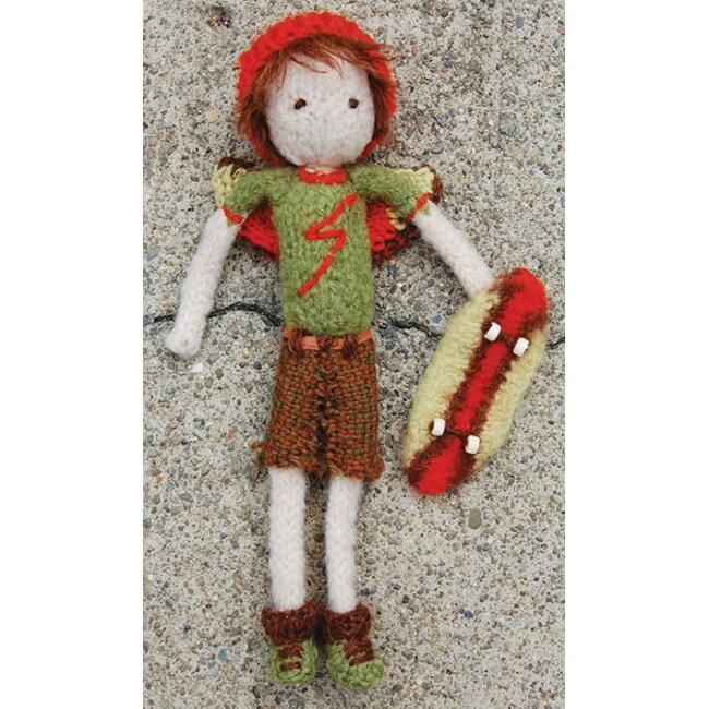 Pick Up Sticks! Knit Felting Patterns-Boy Tooth Fairy