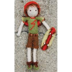 Pick Up Sticks! Knit Felting Patterns-Boy Tooth Fairy