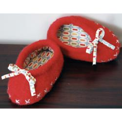 Pick Up Sticks! Knit Felting Patterns-Big Tootsies Slippers