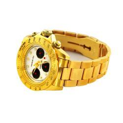 Charlie Jill Men's 'Brequet' Chronograph Watch