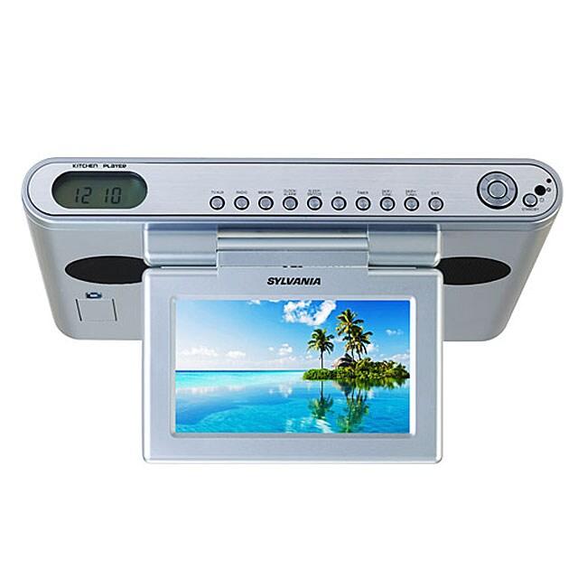 Sylvania SKCR2614A 7-inch LCD TV/Clock Radio Dig/Tuner (Refurbished)
