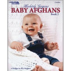 Leisure Arts-Absolutely Gorgeous Baby Afghans, Book 2