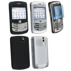 BasAcc 3-piece Accessory Kit for Blackberry Curve 8330