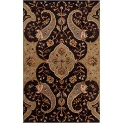 Hand-tufted Brown Roxborough Wool Rug (6' x 9')