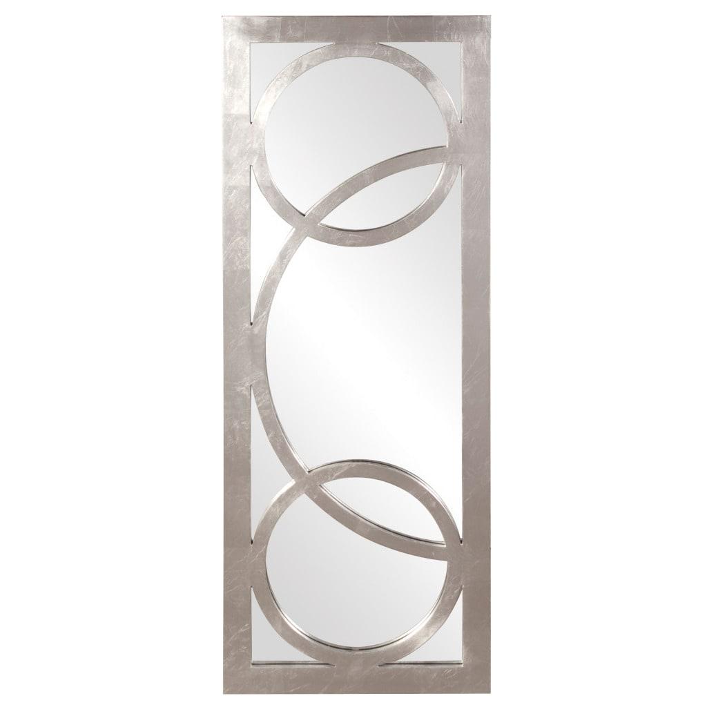 Dynasty Silver Resin Mirror