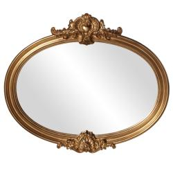 Piedmont Antique Gold Leaf Mirror