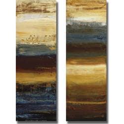 Simon Addyman 'Small Shift I and II' 2-piece Canvas Art Set