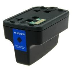 INSTEN HP 02/ C8721WN Black Ink Cartridge (Remanufactured)