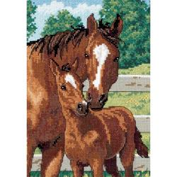 "Gold Collection Petite Mother's Pride Counted Cross Stitch K-5""X7"""