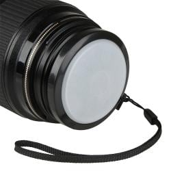 BasAcc Black 58mm Camera White Balance Lens Filter Cap