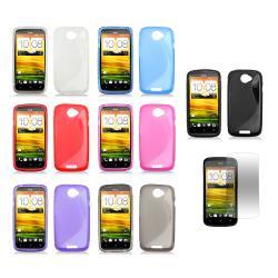 Premium HTC One S/ Ville (T-Mobile) TPU Case/ Screen Protector