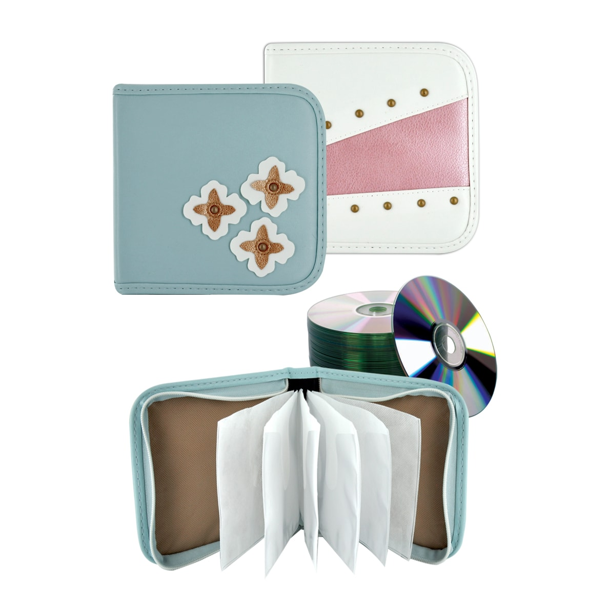 Target 16 Capacity CD/DVD Wallet Holder by Case Logic (Pack of 2)