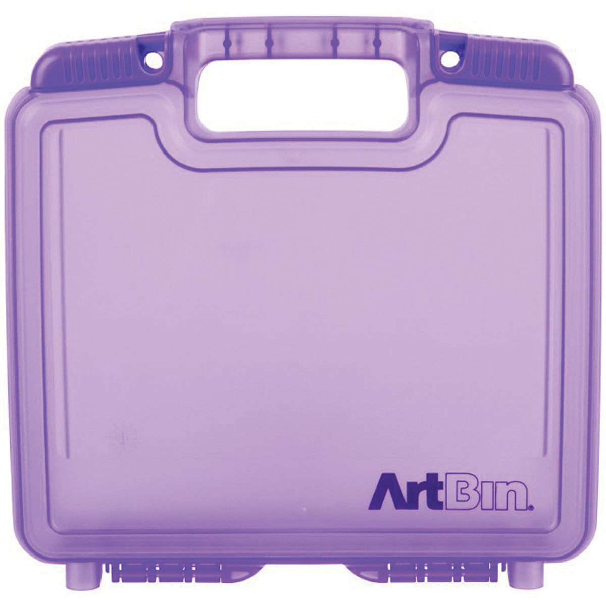 "ArtBin Quick View Deep Base Carrying Case-10.25""X3.25""X9.625"" Translucent Purple"