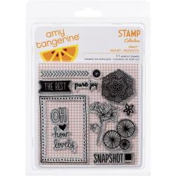 Amy Tangerine Sketchbook Acrylic Stamps