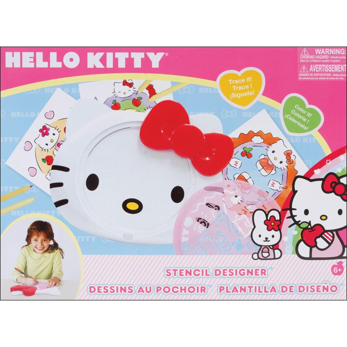 Hello Kitty Stencil Designer-Manual