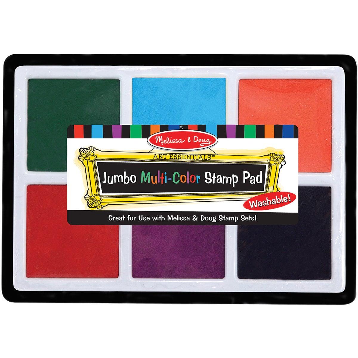 Jumbo Stamp Pad-Multicolor