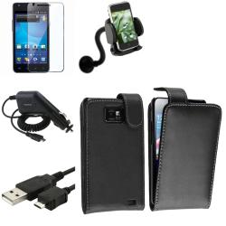 Case/ LCD Protector/ Charger/ Holder for Samsung Galaxy S II i777 AT&T