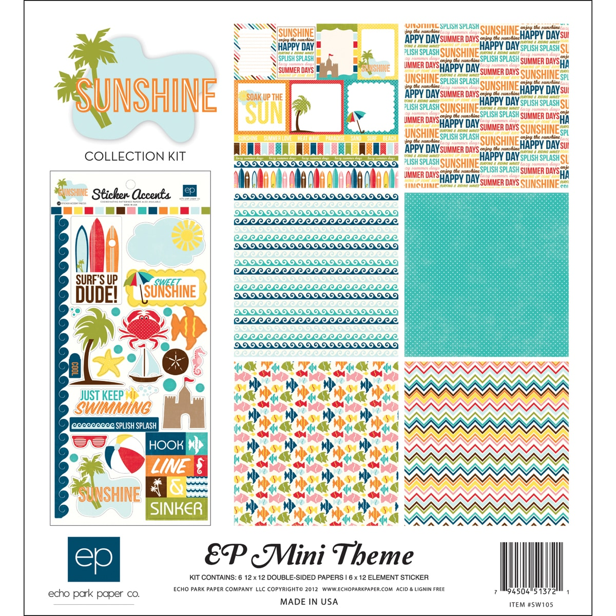 "Sunshine Collection Kit 12""X12"""