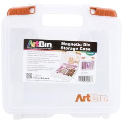 "ArtBin Magnetic Die Storage W/3 Sheets-10.25""x3.25""x9.625"" Translucent"