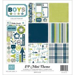 "Boys Collection Kit 12""X12"""