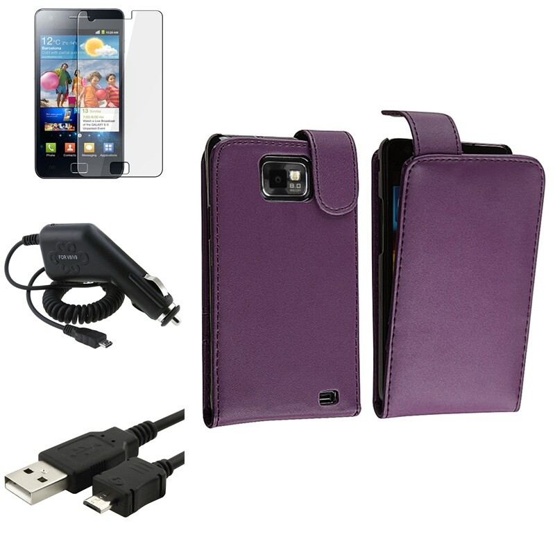 Case/ LCD Protector/ Cable/ Charger for Samsung Galaxy S II i9100
