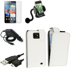 Case/ LCD Protector/ Charger/ Holder for Samsung Galaxy S II i9100