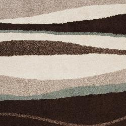 Woven Multicolored Oconto Geometric Stripes Accent Rug (2' x 3')