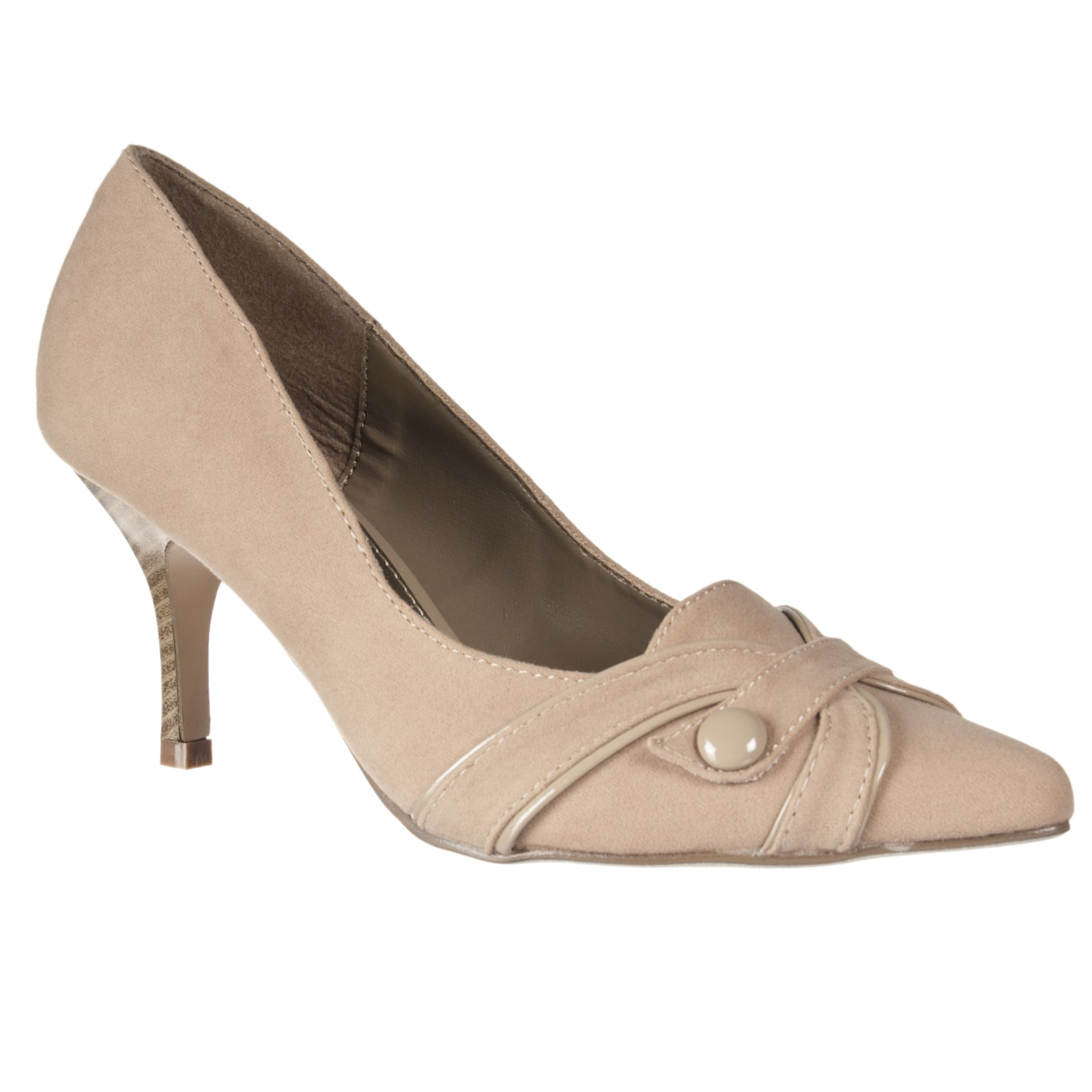 Riverberry Women's 'Exhbitor' Beige Pointed-toe Pumps
