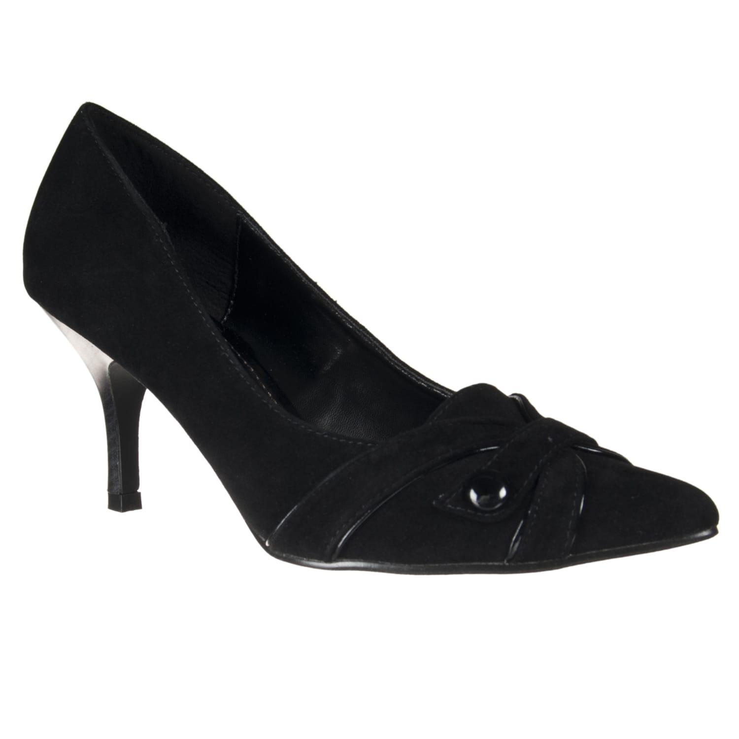 Riverberry Women's 'Exhbitor' Black Pointed-toe Pumps