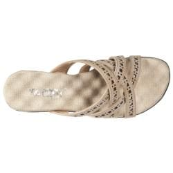 Riverberry Women's 'Comfort' Brown Padded Wedge Sandals