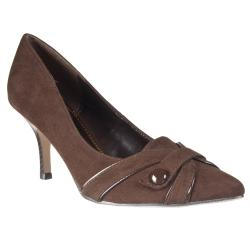 Riverberry Women's 'Exhbitor' Brown Pointed-toe Pumps
