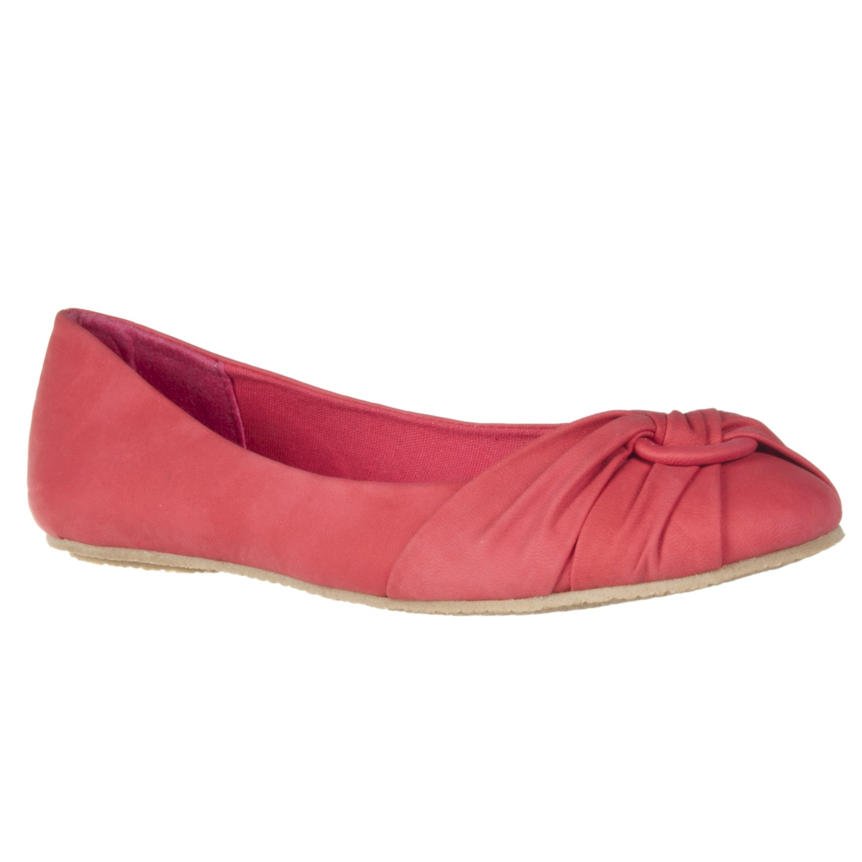 Riverberry Women's 'Brett' Pink O-ring Flats