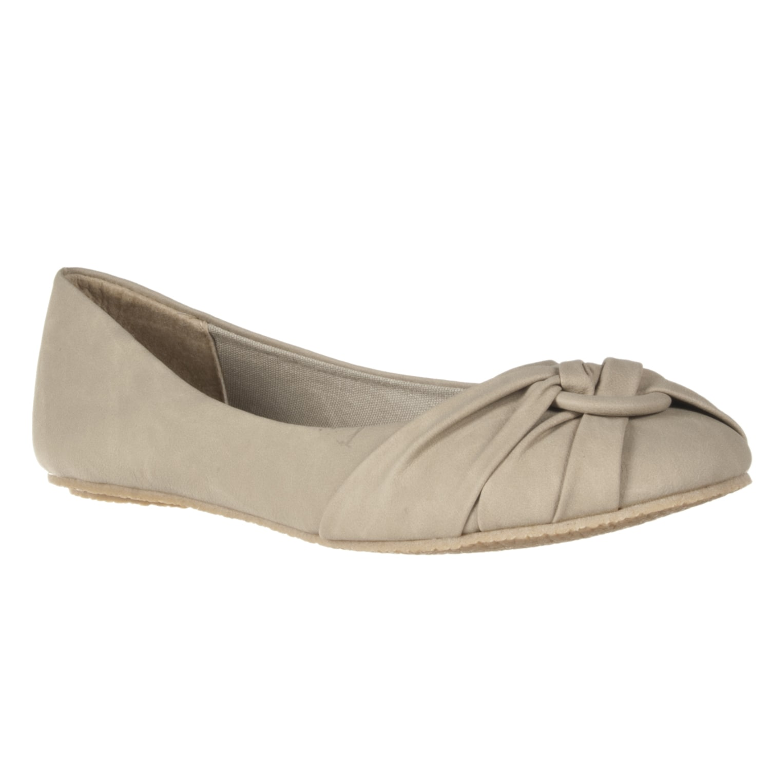 Riverberry Women's 'Brett' Natural O-ring Flats