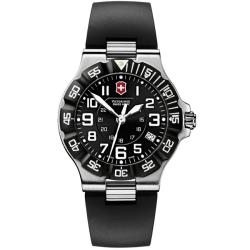 Victorinox Swiss Army Men's Summit XLT Black Dial Rubber Strap Watch
