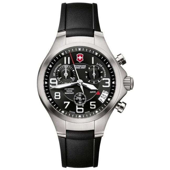 Victorinox Swiss Army Men's Base Camp Black Dial Chronograph Watch